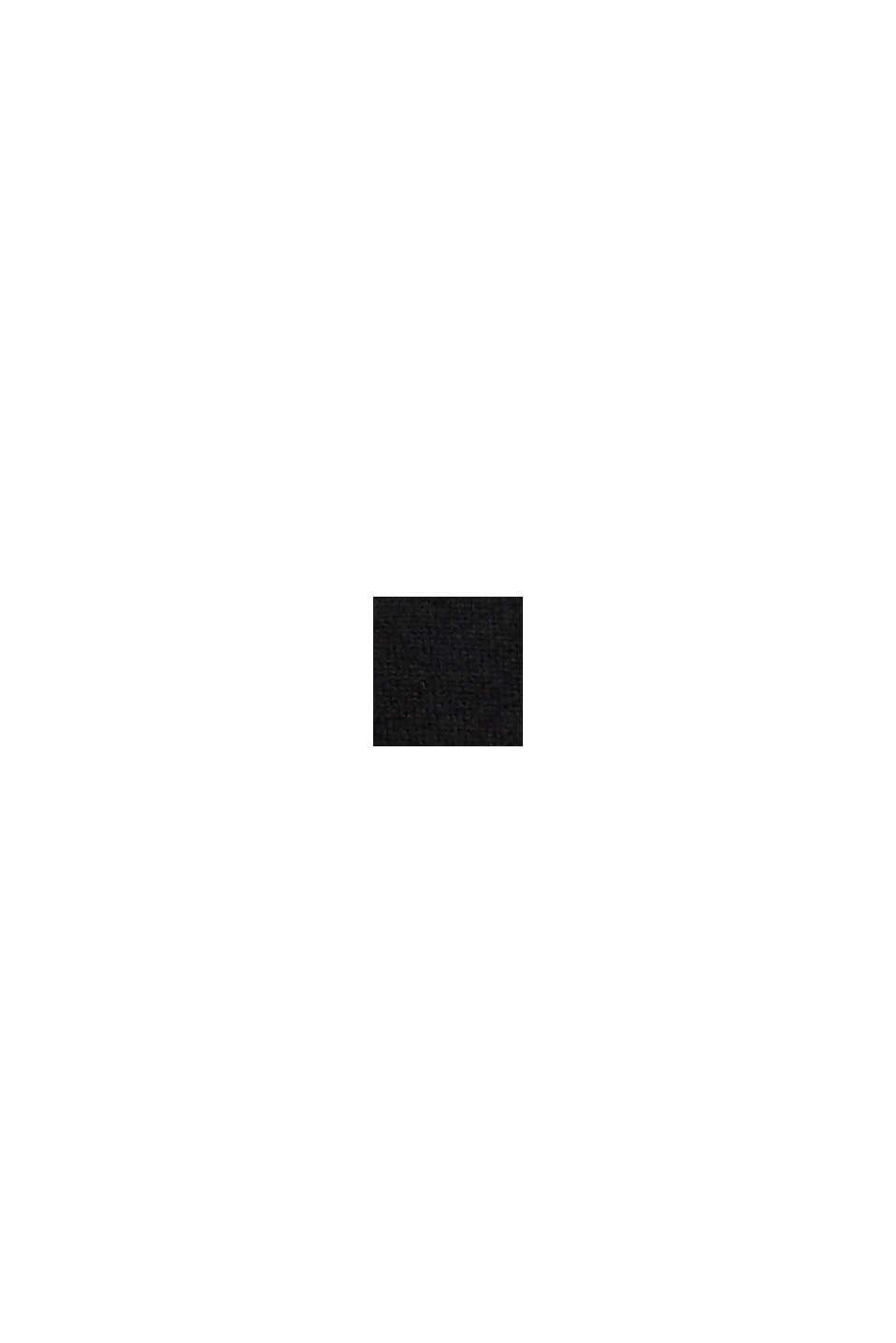 À teneur en cachemire: le pull-over à encolure ronde, BLACK, swatch