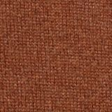 With cashmere: jumper with a round neckline, RUST BROWN, swatch