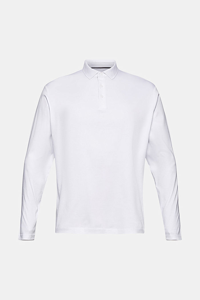 Jersey polo shirt made of 100% organic cotton