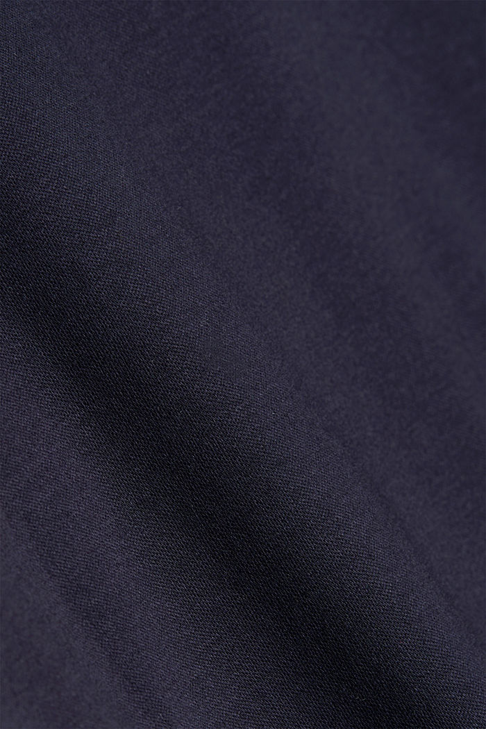 Jersey polo shirt made of 100% organic cotton, NAVY, detail image number 4