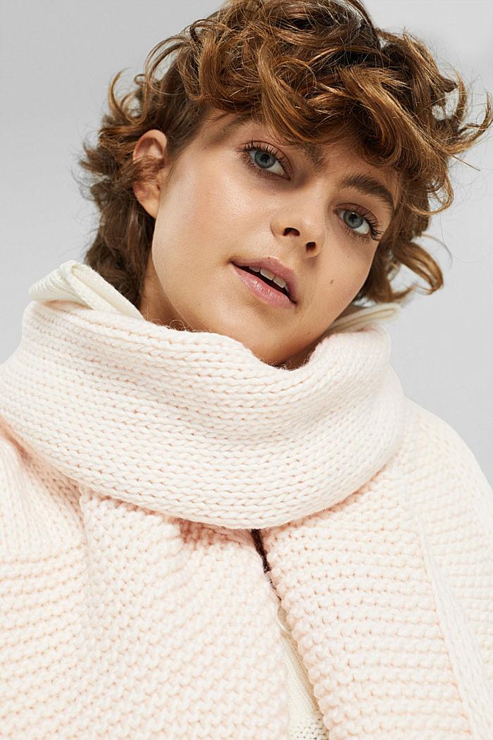 Shawls/Scarves, OFF WHITE, detail image number 3