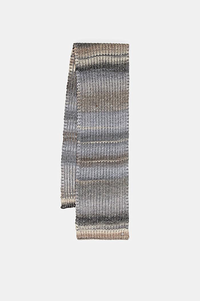 Shawls/Scarves, MEDIUM GREY, detail image number 4