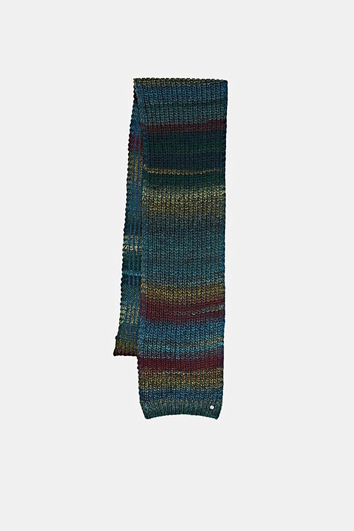 Shawls/Scarves, EMERALD GREEN, detail image number 3