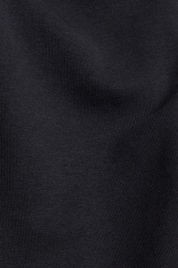 Jogginghose aus Bio-Baumwoll-Mix, BLACK, detail image number 4
