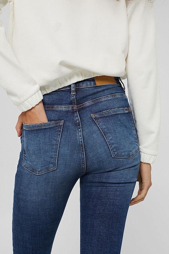 Stretch-Jeans mit Organic Cotton, BLUE DARK WASHED, detail image number 2