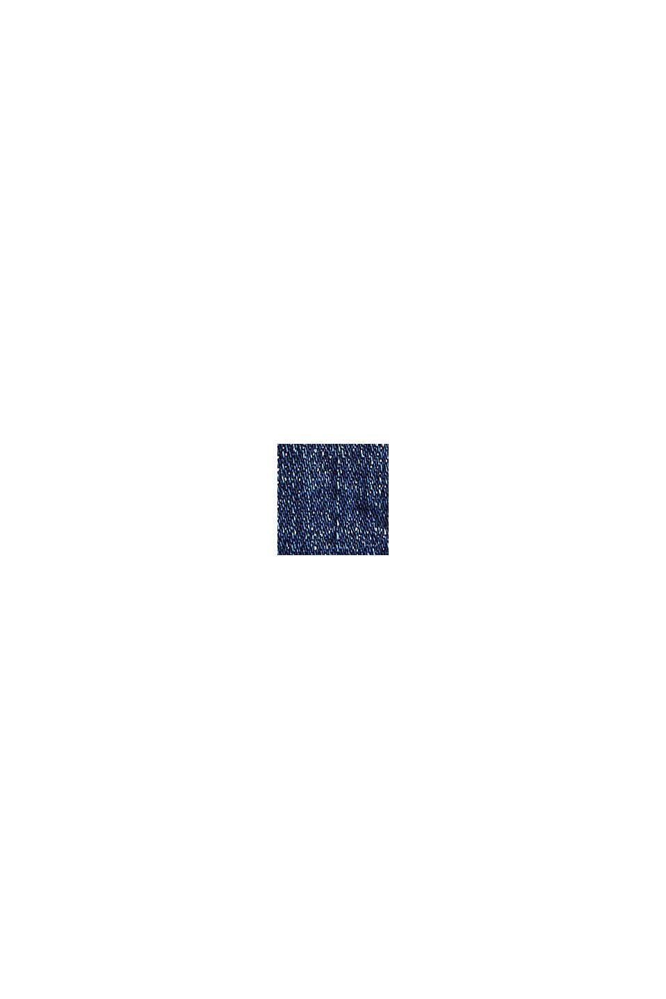 Stretch-Jeans mit Organic Cotton, BLUE DARK WASHED, swatch