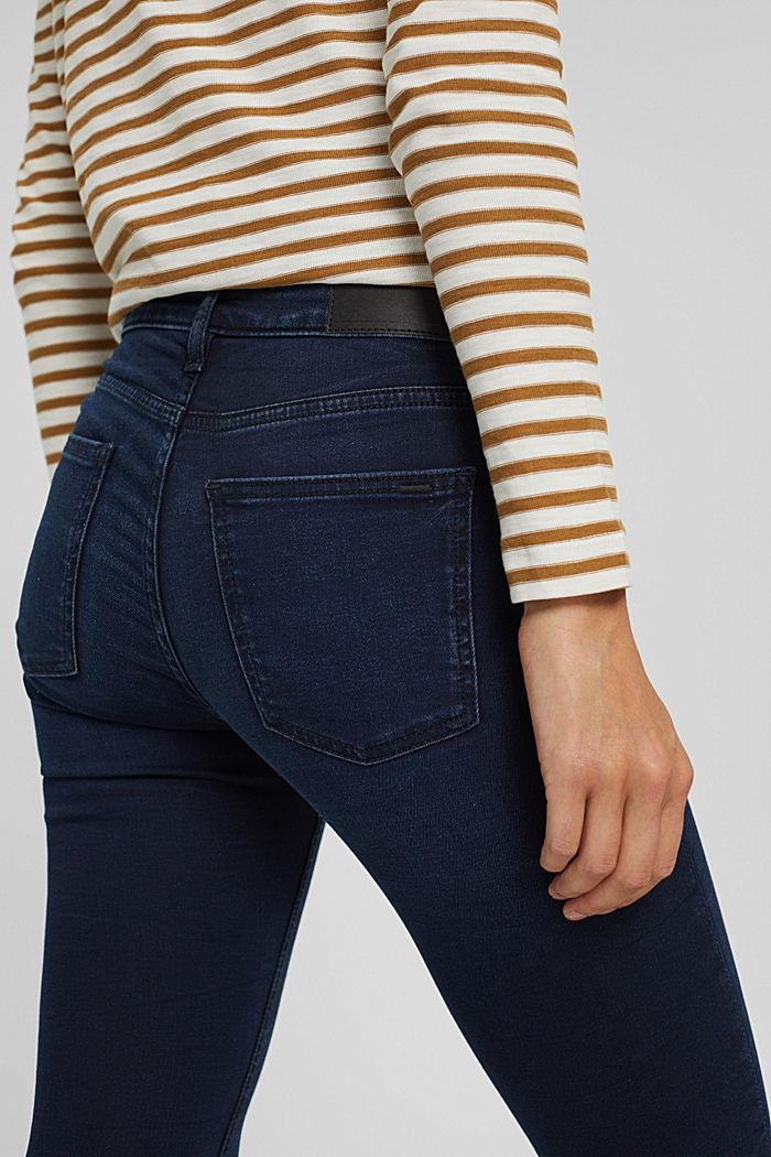 Stretch-Jeans aus Bio-Baumwoll-Mix, BLUE BLACK, detail image number 5