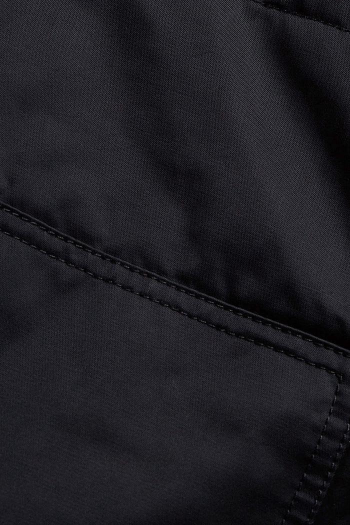 3-in-1 variabler Mantel aus Baumwoll-Mix, BLACK, detail image number 4