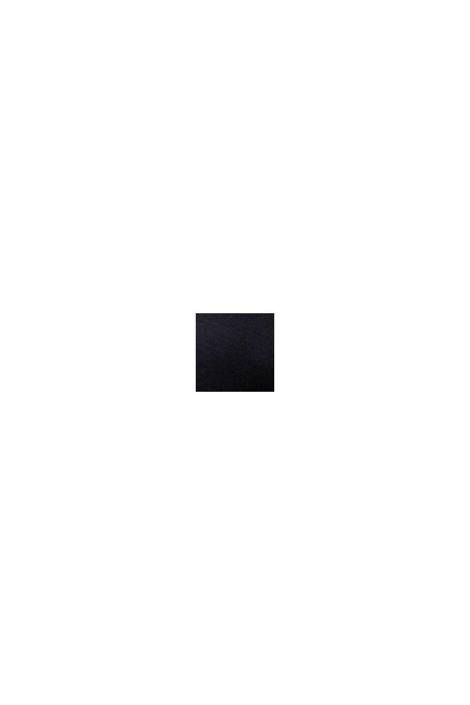 Abrigo 3 en 1 regulable con mezcla de algodón, BLACK, swatch