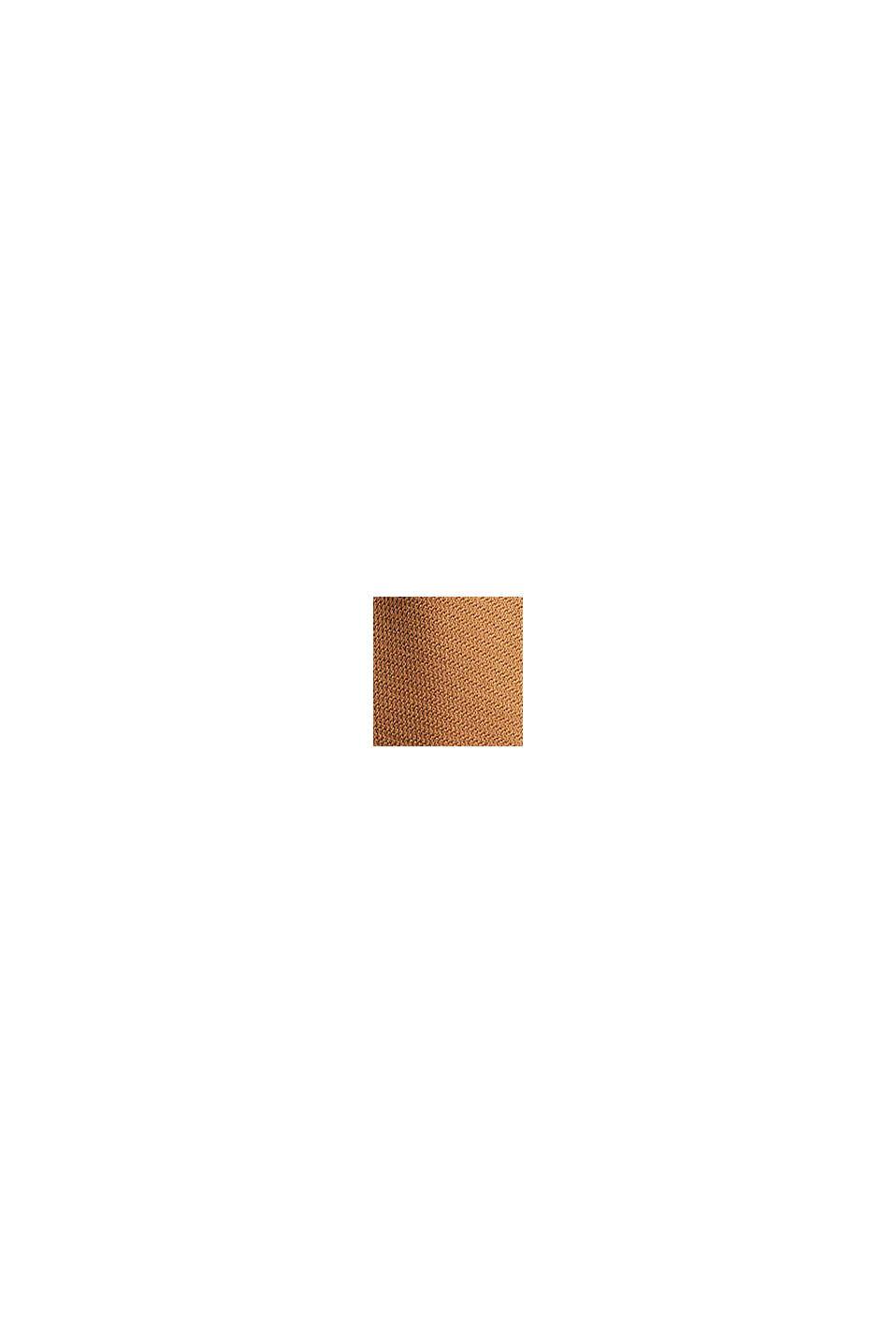Abrigo 3 en 1 regulable con mezcla de algodón, BARK, swatch