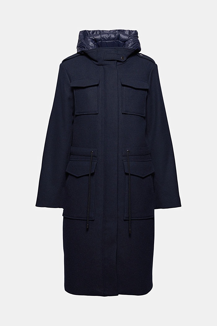 Coats woven Fitted
