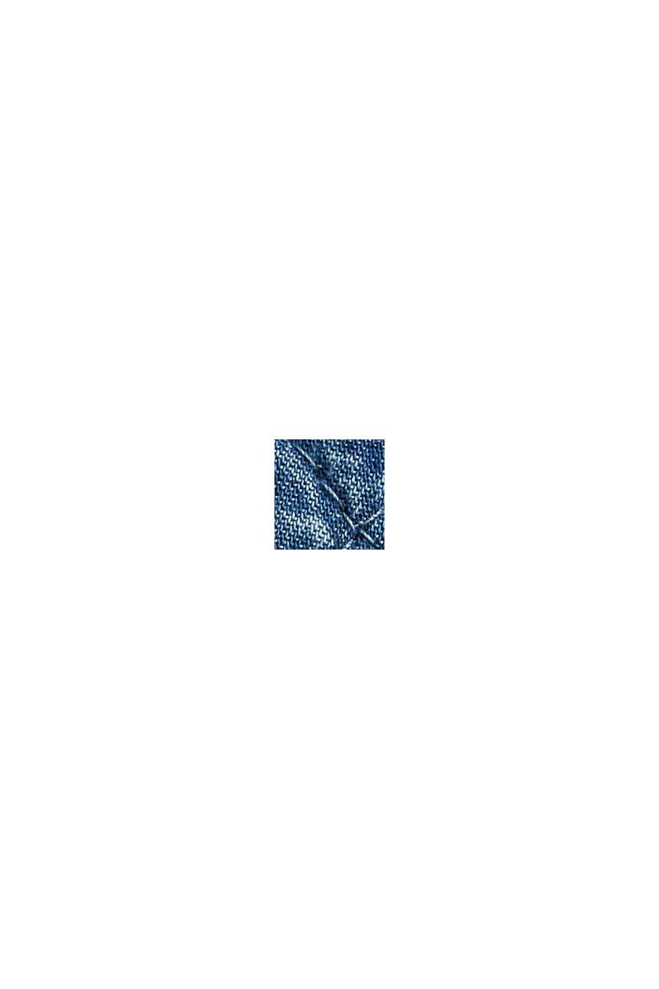 Shacket imbottita effetto jeans, BLUE MEDIUM WASHED, swatch