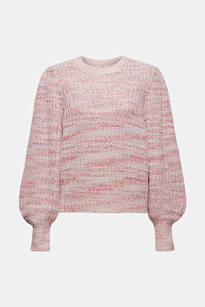 Handarbeit: Multicolor-Pullover mit Wolle