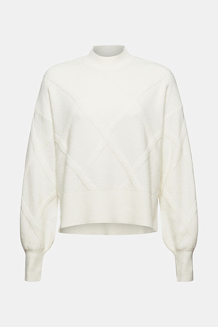 Sweaters, OFF WHITE, detail image number 5