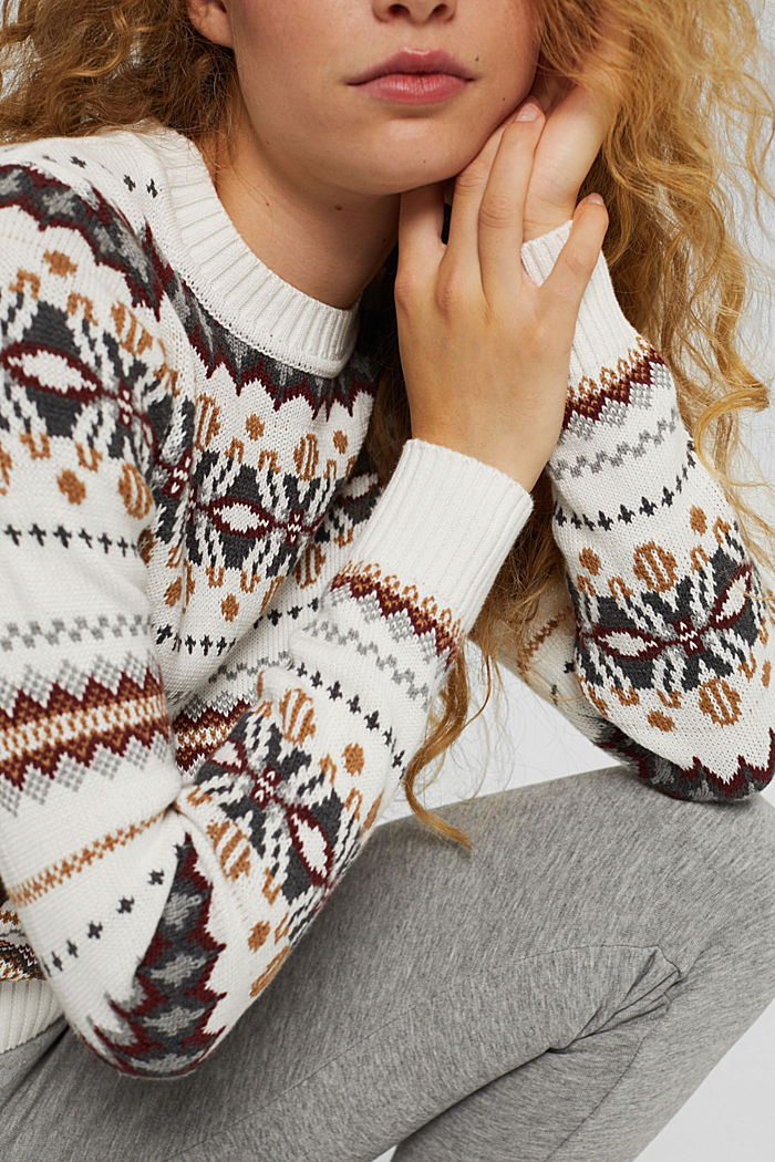 Sweaters, OFF WHITE, detail image number 2