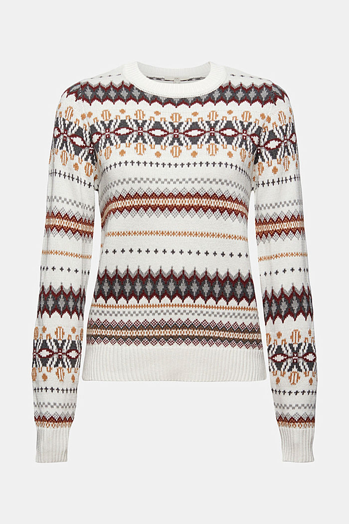 Sweaters, OFF WHITE, detail image number 6