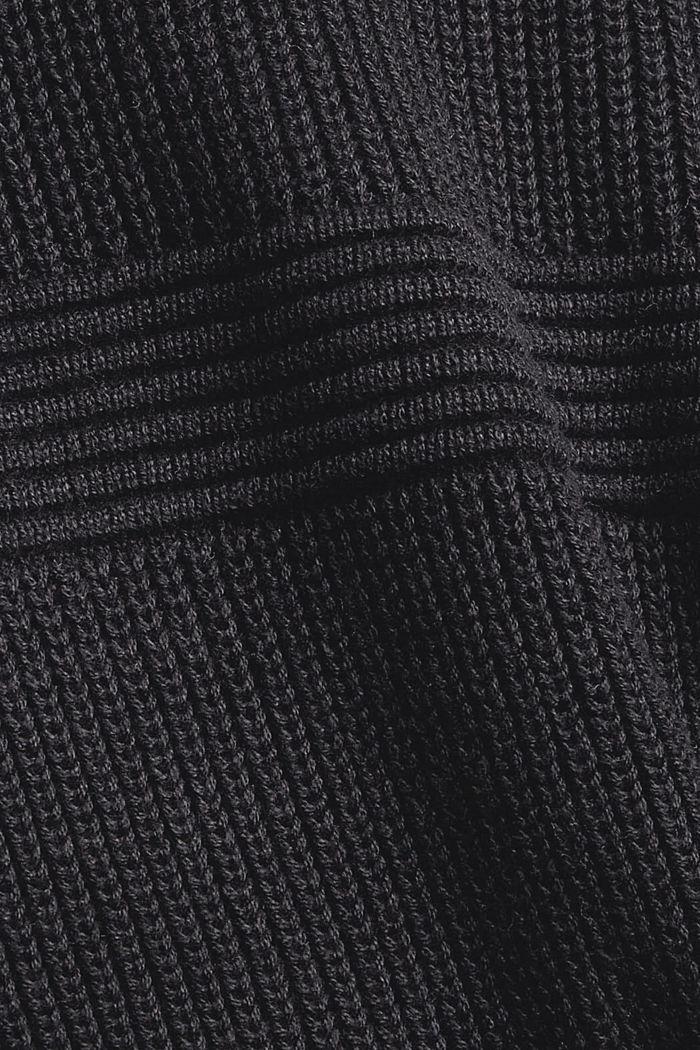 Fashion Cardigan, BLACK, detail image number 4