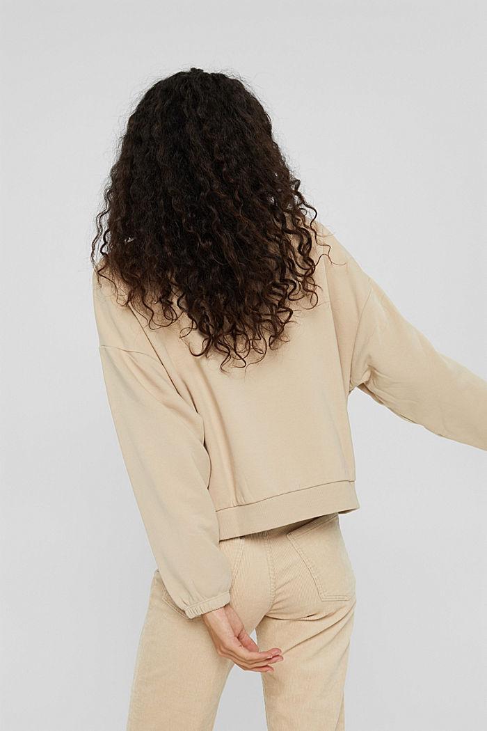 Sweatshirts, BEIGE, detail image number 3