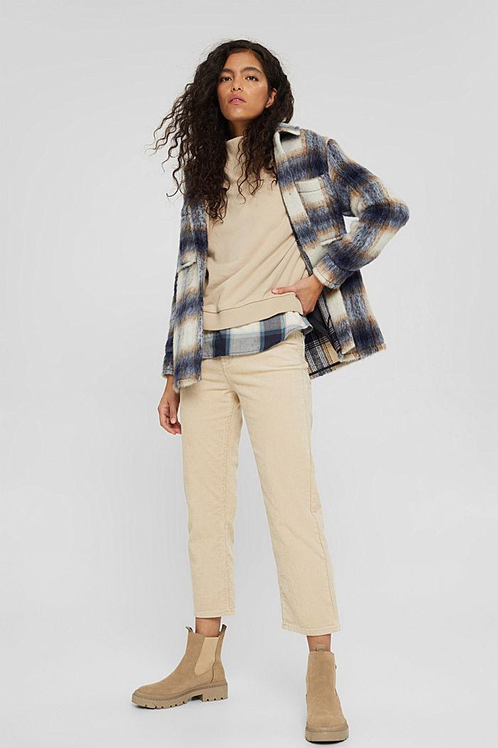 Sweatshirts, BEIGE, detail image number 1