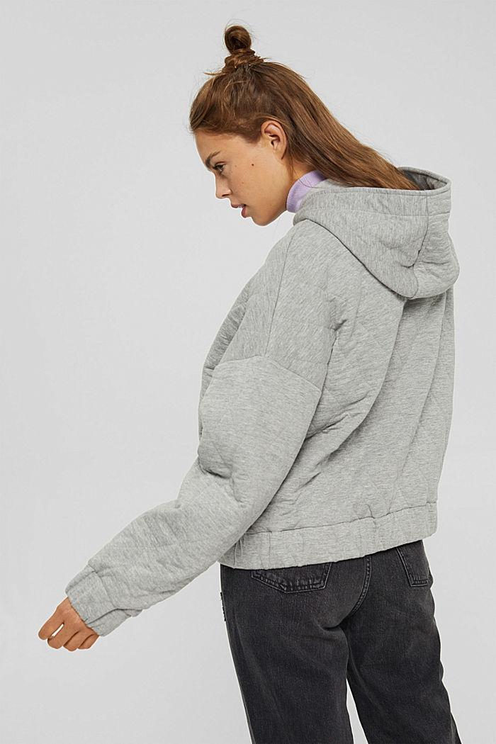 Sweatshirts cardigan, MEDIUM GREY, detail image number 3