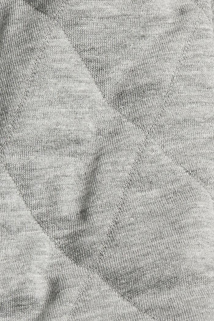 Sweatshirts cardigan, MEDIUM GREY, detail image number 4
