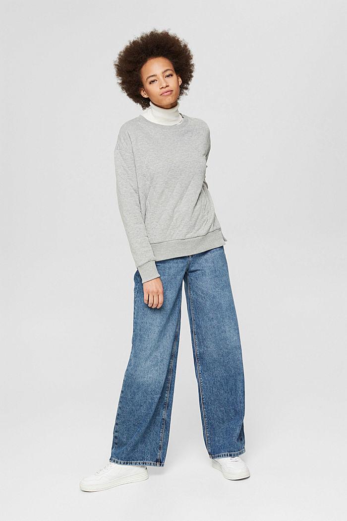 Sweatshirts, MEDIUM GREY, detail image number 7