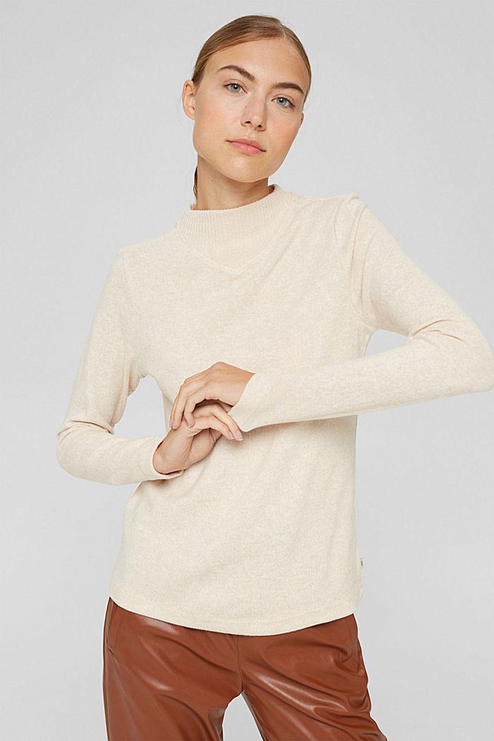 T-Shirts, BEIGE, detail image number 0