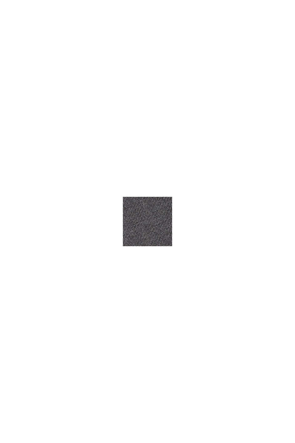 Longsleeve aus Bio-Baumwoll-Mix, ANTHRACITE 5, swatch