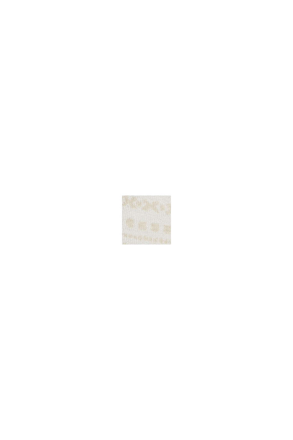 Longsleeve met print van organic cotton, OFF WHITE, swatch