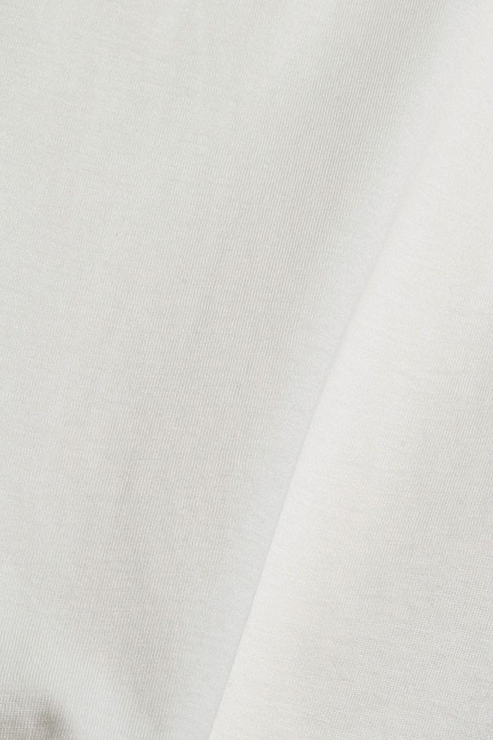 T-shirt met print, van biologisch katoen, OFF WHITE, detail image number 4