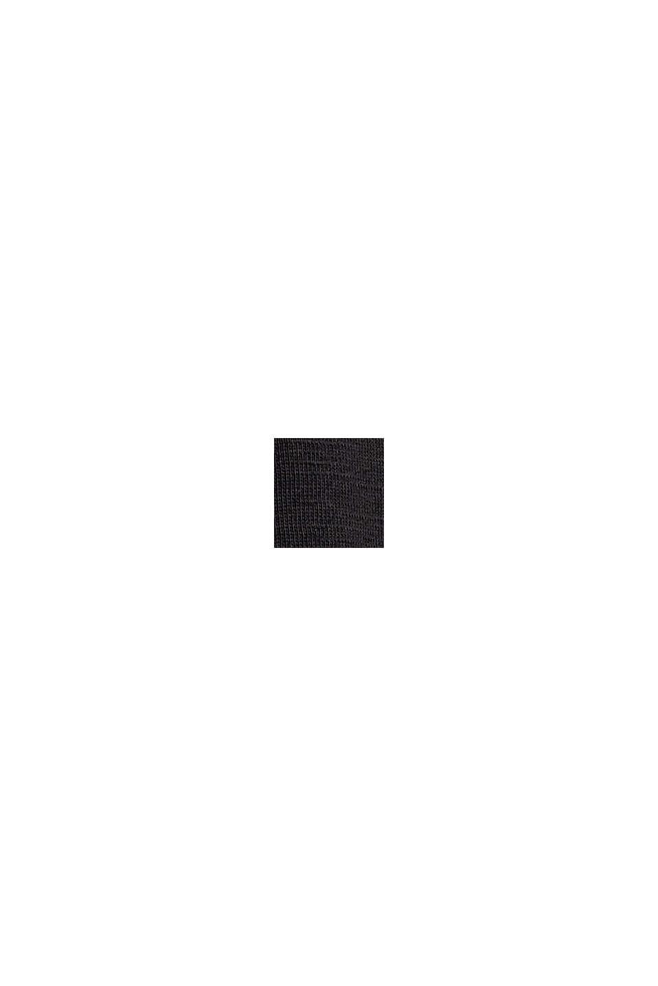 Longsleeve mit Print aus Organic Cotton, BLACK, swatch
