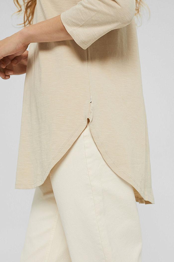 T-Shirts, BEIGE, detail image number 5