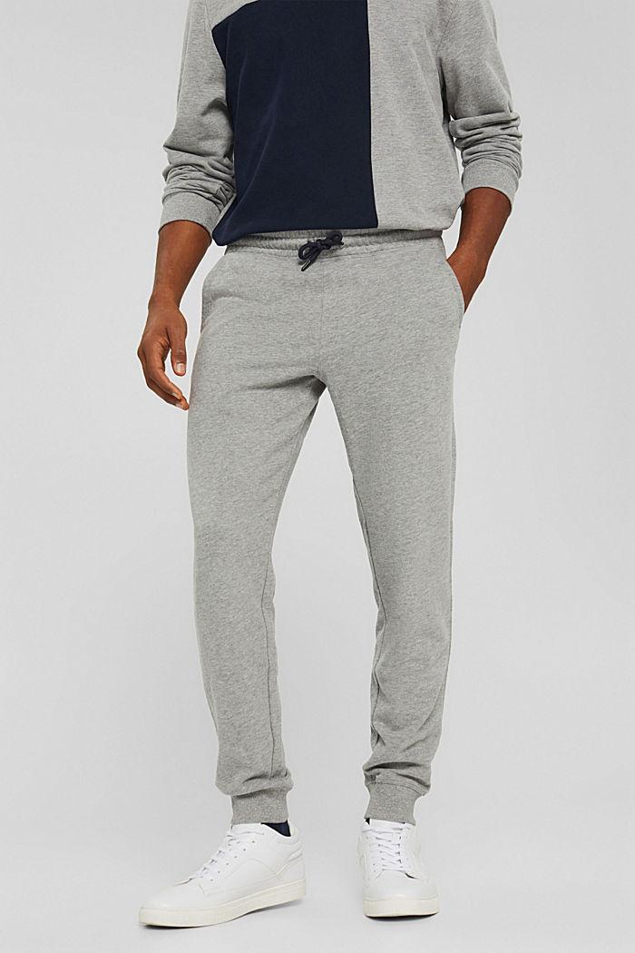 Pants knitted Slim Fit, MEDIUM GREY, detail image number 0