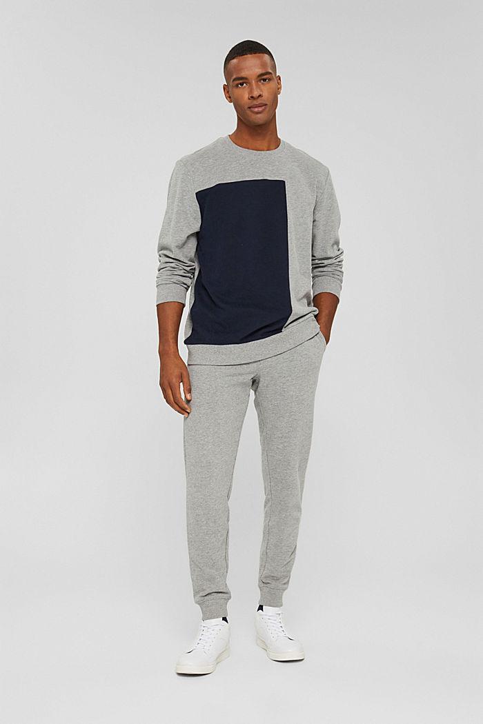 Pants knitted Slim Fit, MEDIUM GREY, detail image number 4