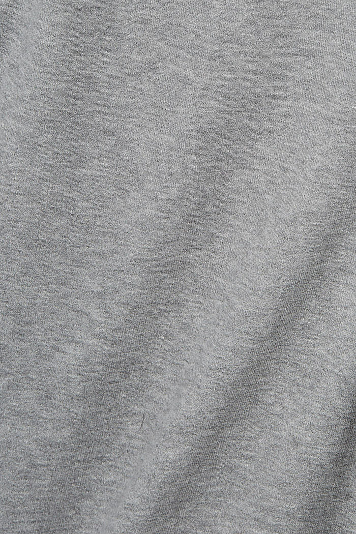 Pants knitted Slim Fit, MEDIUM GREY, detail image number 5