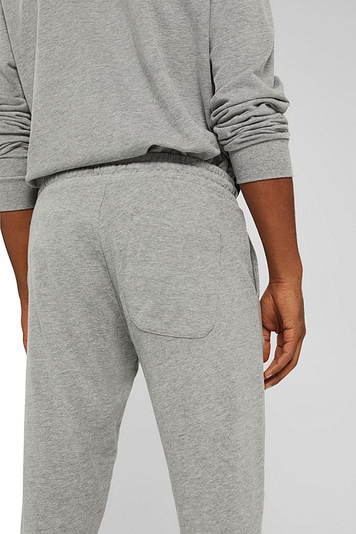 Pants knitted Slim Fit, MEDIUM GREY, detail image number 6