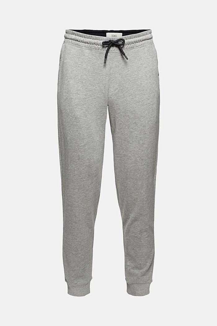Pants knitted Slim Fit, MEDIUM GREY, detail image number 7