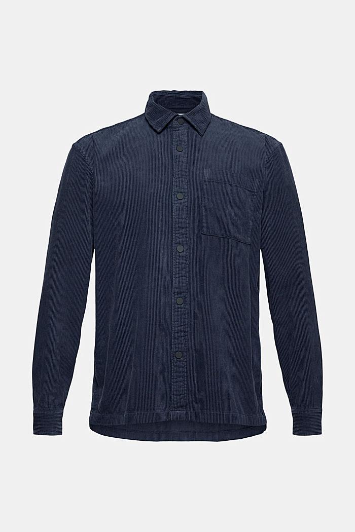 Camicia di velluto, 100% cotone