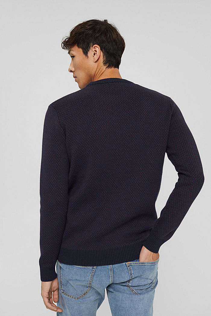 Fashion Sweater, NAVY, detail image number 3