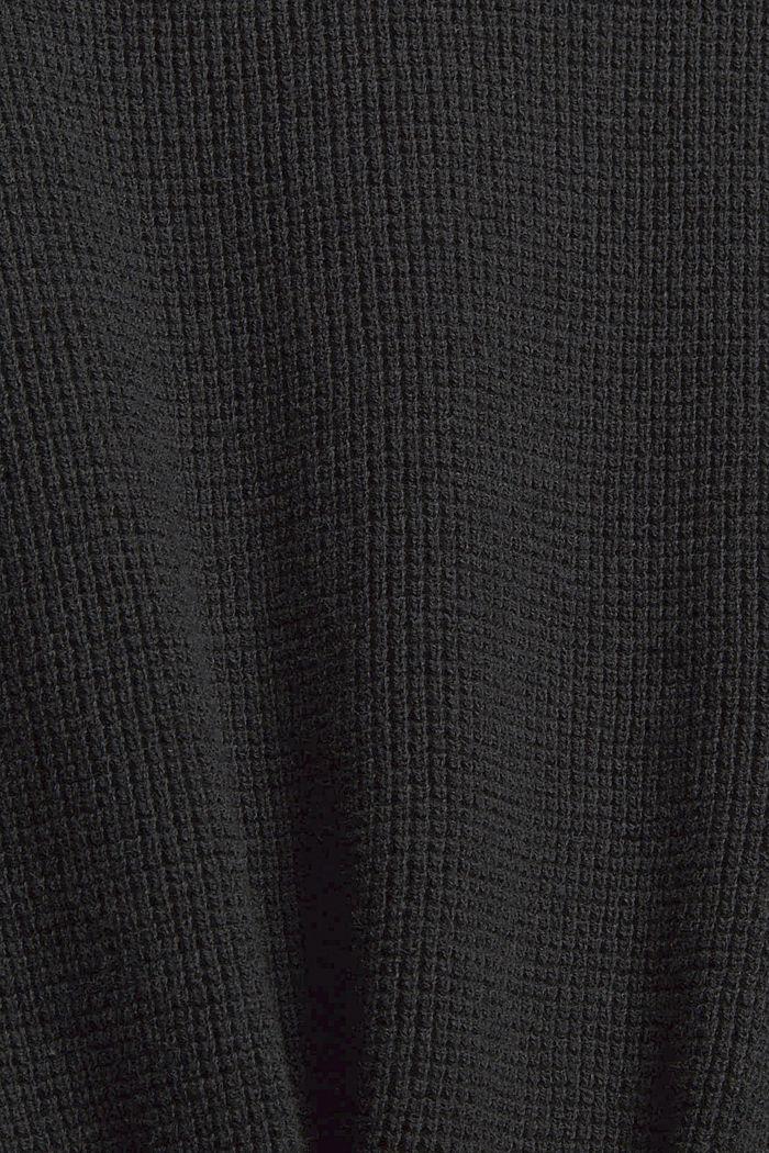 Pullover mit Brusttasche, Organic Cotton, ANTHRACITE, detail image number 4