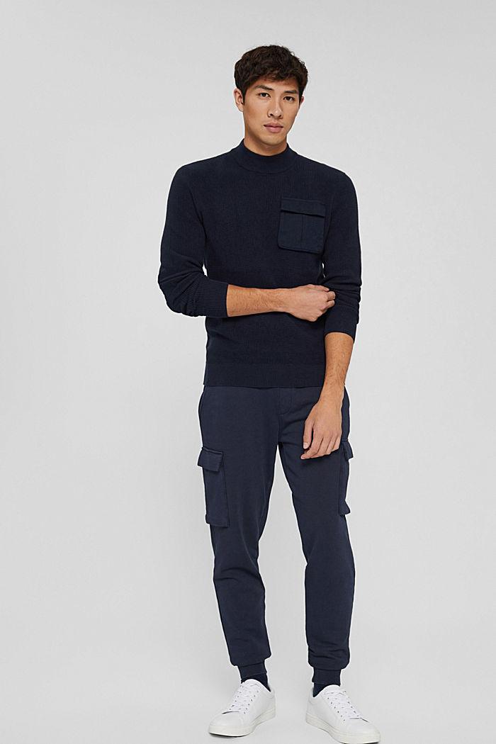 Fashion Sweater, NAVY, detail image number 7