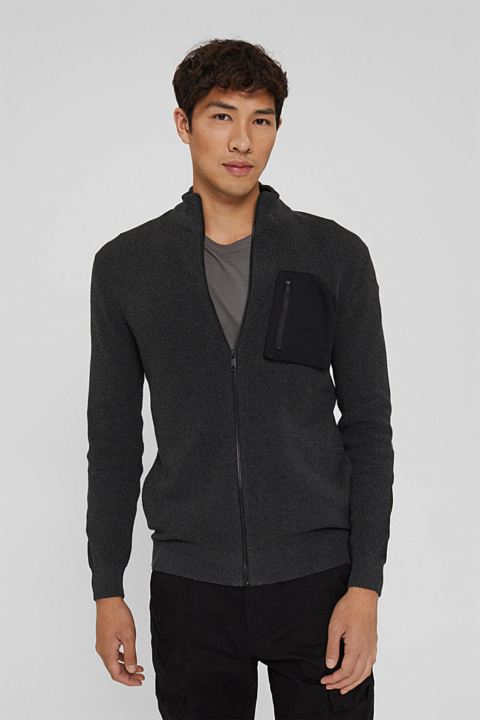 Fashion Sweater, ANTHRACITE, detail image number 0