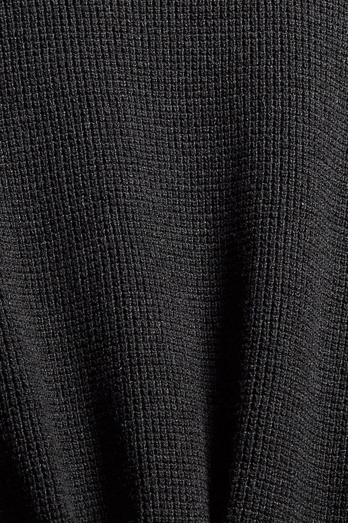 Fashion Sweater, ANTHRACITE, detail image number 4