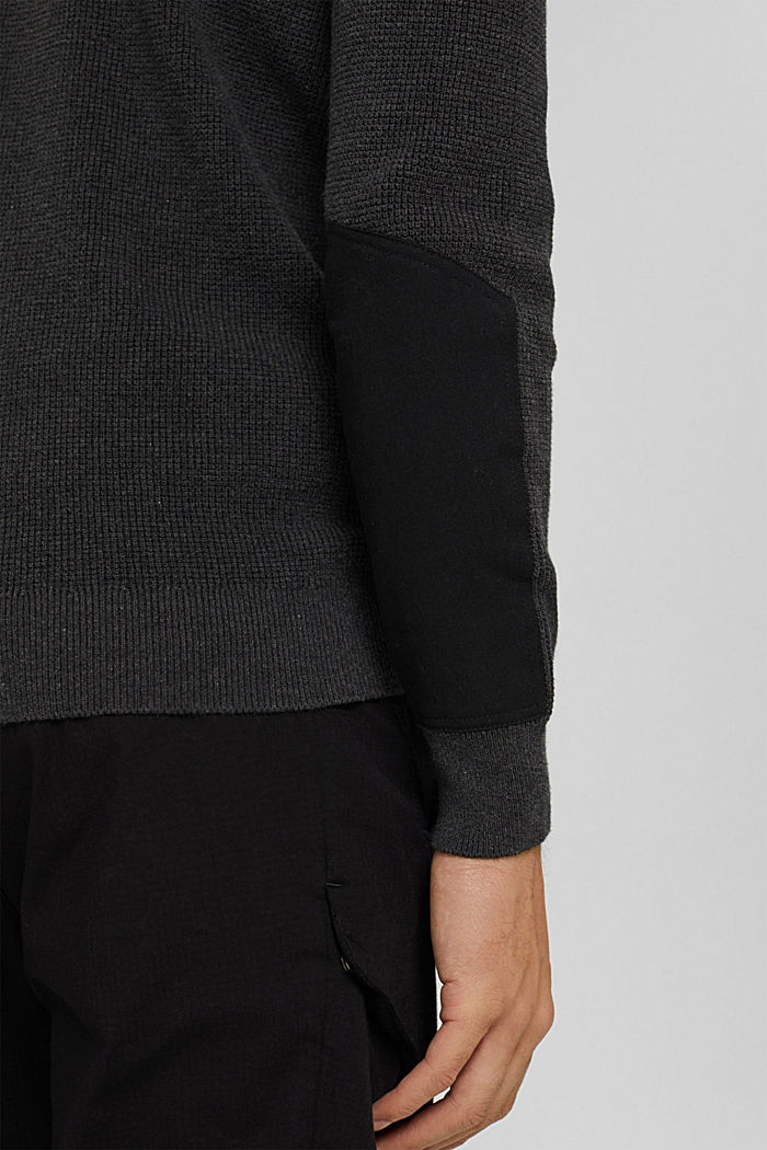 Fashion Sweater, ANTHRACITE, detail image number 6