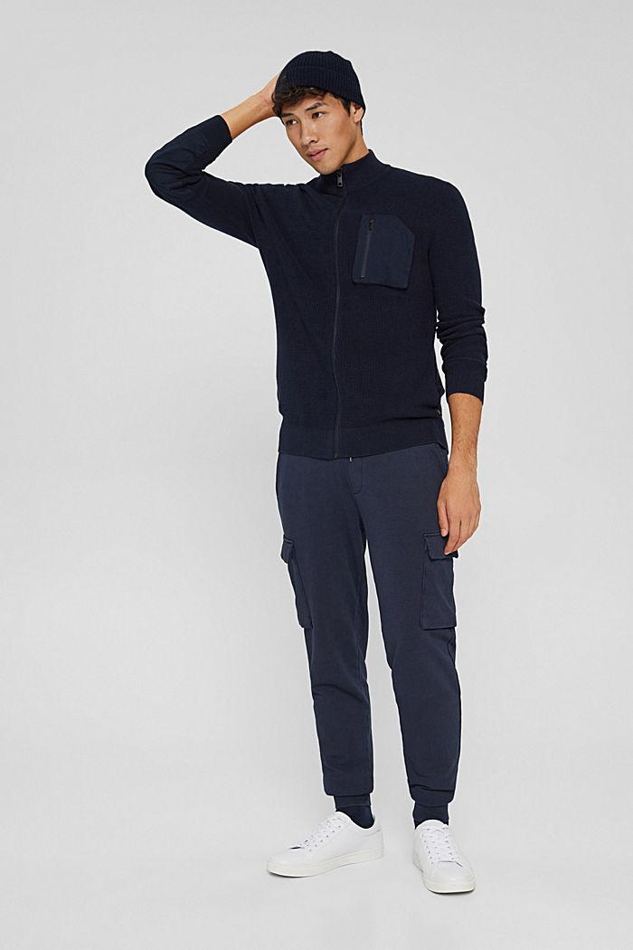 Fashion Sweater, NAVY, detail image number 1