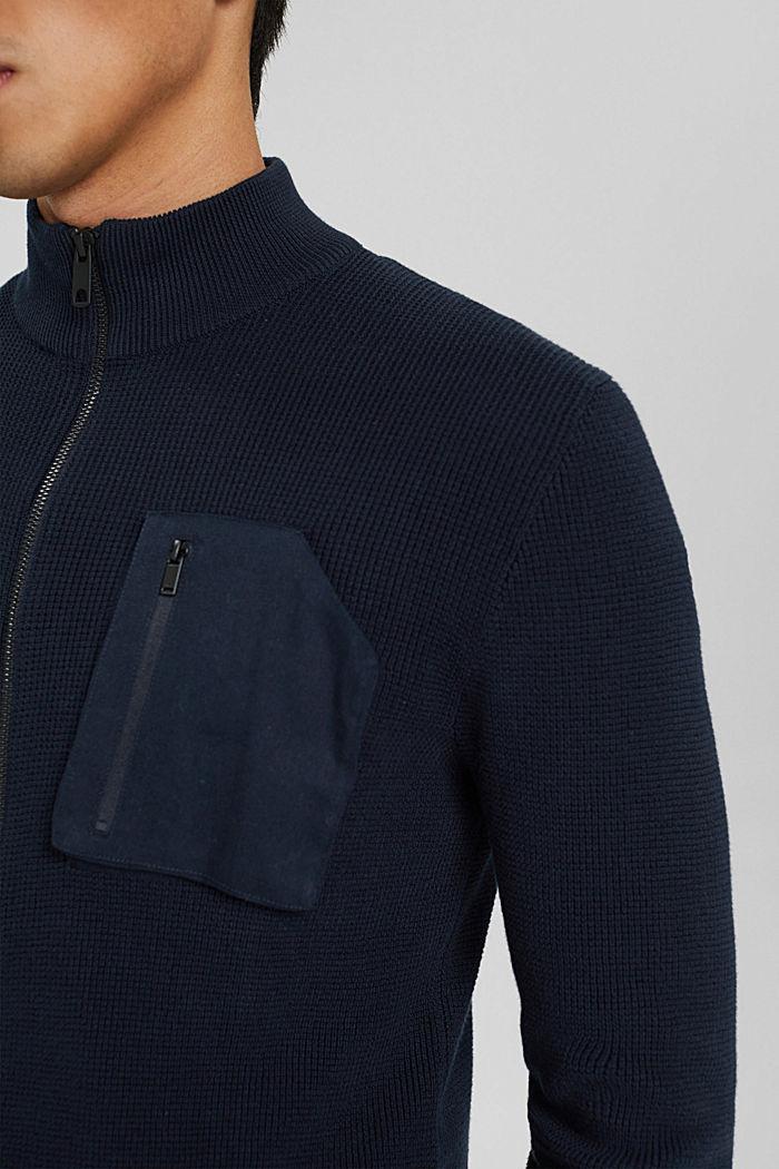 Fashion Sweater, NAVY, detail image number 2