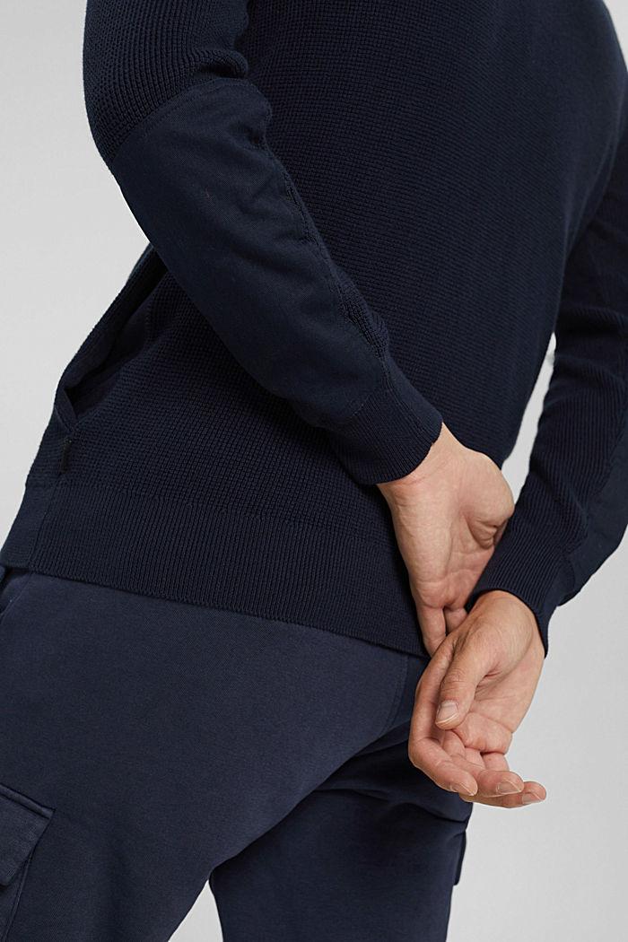 Fashion Sweater, NAVY, detail image number 5