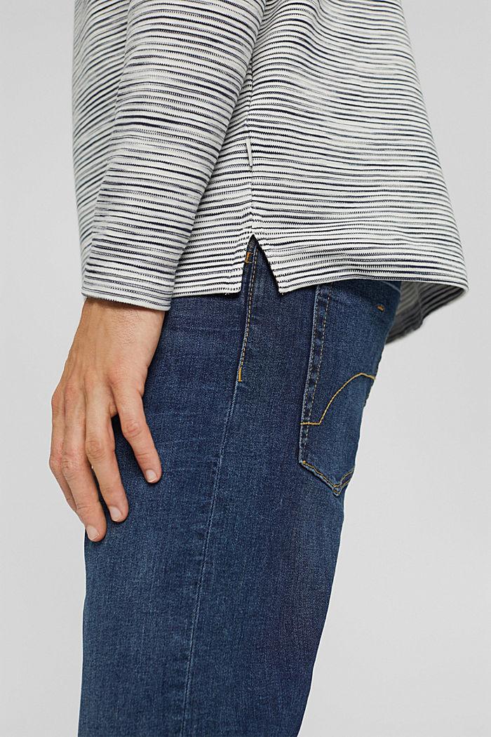 Sweatshirt mit Tasche aus Baumwoll-Mix, OFF WHITE, detail image number 2