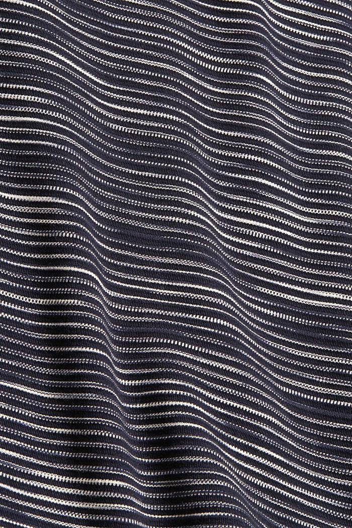Sweat-shirt à poche en coton mélangé, NAVY, detail image number 5