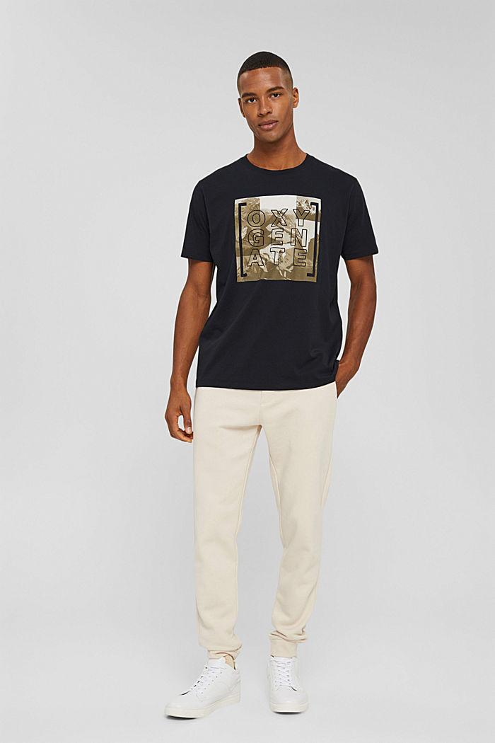 T-Shirts Regular Fit, BLACK, detail image number 6